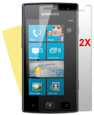 Screen Protector for Samsung Omnia W, 2pack