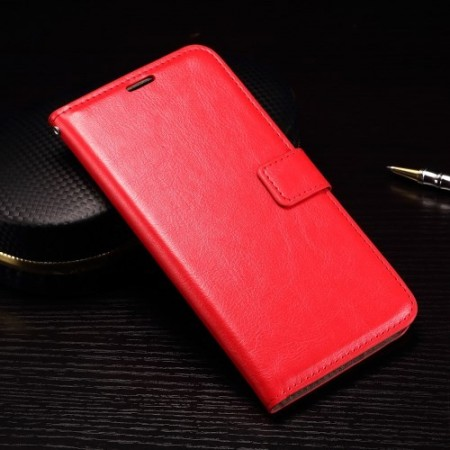 Wallet PU Leather Case for Huawei Nexus 6P, Red