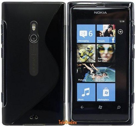 FlexiShield Skin for Nokia Lumia 800N, *S-line*