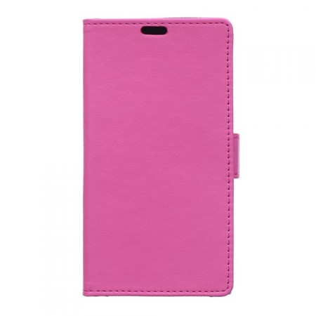 Wallet PU Leather Case for Huawei Y6, Rose