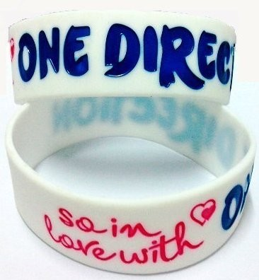Wristband *One Direction*, White