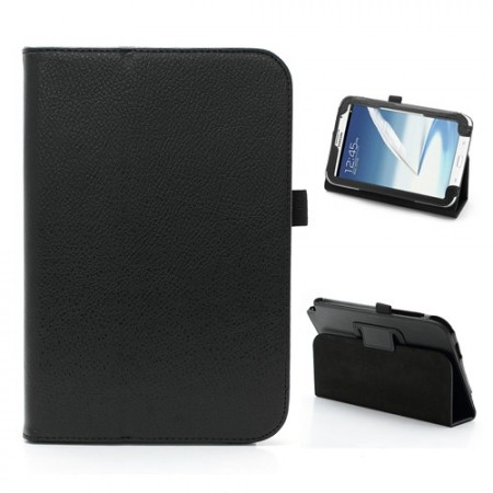 Booklet PU case for Samsung Galaxy Note 8.0, (N5100/N5110),Black