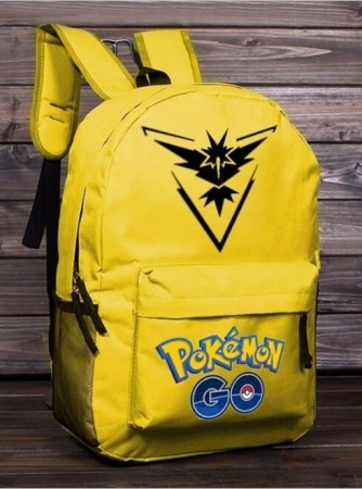 Ryggsekk Pokémon GO ¨Team Instinct¨,Yellow