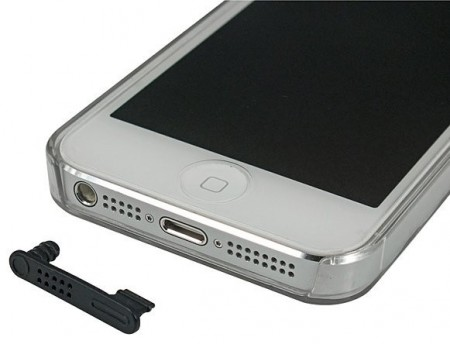 Anti-Dust Stopper Charger & Headset for Apple iPhone 5/5c/5s & iPod Touch 5