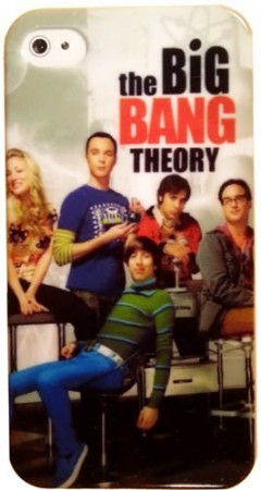 Hard Back Case for Apple iPhone 4/4S, *The Big Bang Theory*, #1