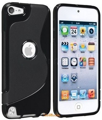 Flexi Shield Skin for Apple iPod Touch 5, *O-S-line*, Black
