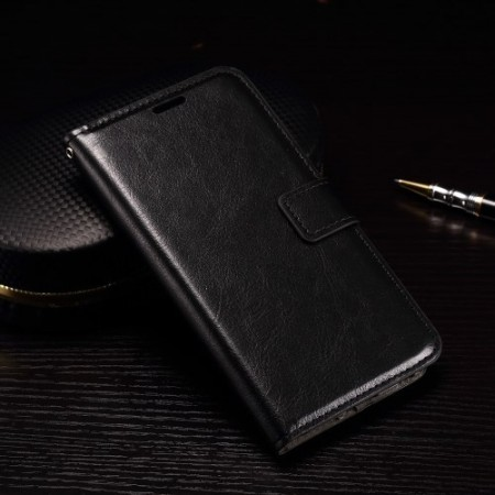 Wallet PU Leather Case for LG Nexus 5X, Black