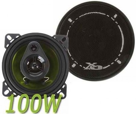 "Fence Audio RST-4364,3-veis, 4""-100W, 2 stk."