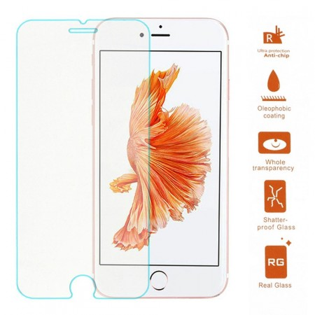 Tempered Glass Screen Protector Film for Apple iPhone 7 Plus (5,5¨), Clear