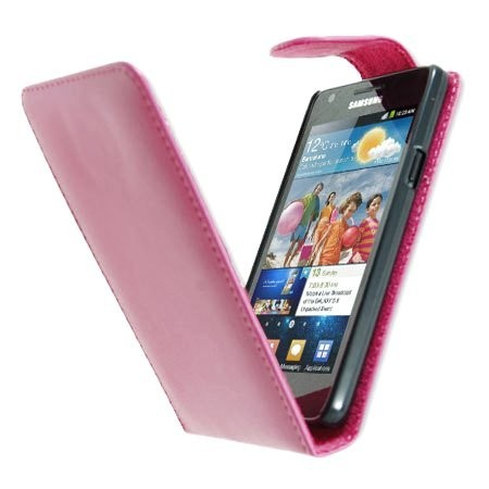 Flip PU Leather Case for Samsung Galaxy S II