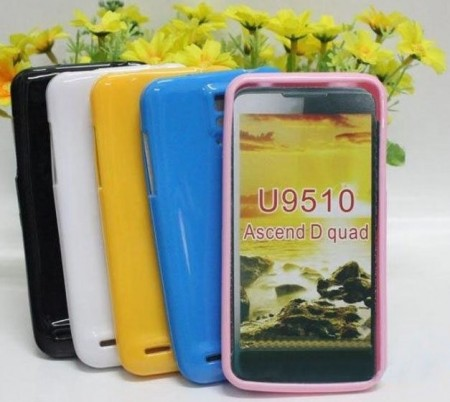 Flexi Shield Skin for Huawei Ascend D1 Quad (U9510), *Glossy*
