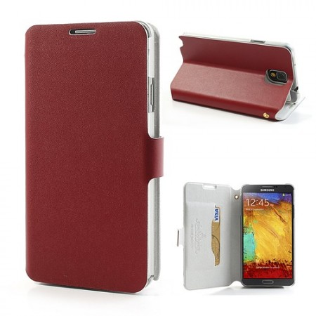 Doormoon Booklet Leather Case Samsung Galaxy Note 3, Red