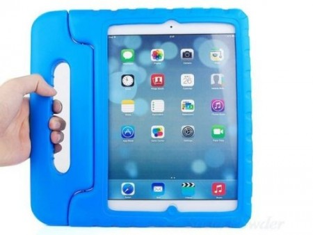 Anti Shock Protection Case for Apple iPad Air 2,¨Carry¨, Blue