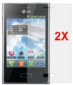 Screen Protector LG E400 (Optimus L3),2pack