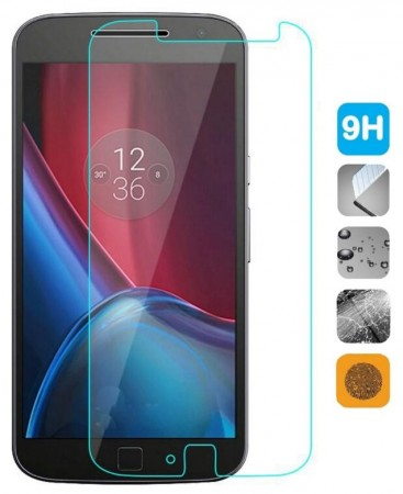 Tempered Glass Screen Protector Film for Lenovo Moto G4/G4 Plus, Clear