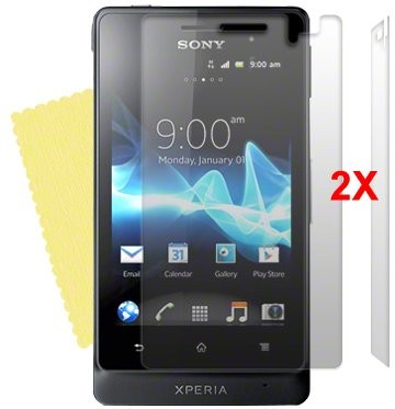 Screen Protector for Sony Xperia™ Go, 2pack