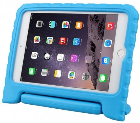 Anti Shock Protection Case for Apple iPad Mini 4, ¨Carry¨, Blue