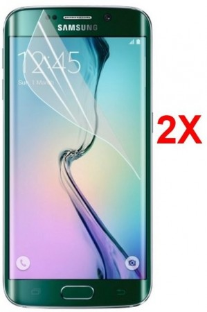 Screen Protector for Samsung Galaxy S6 Edge, 2pack