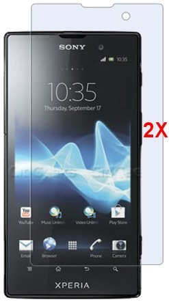 Screen Protector for Sony Xperia™ Ion, 2pack