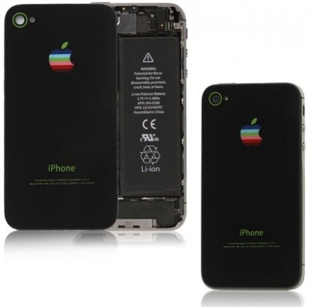 Battery Back Cover for Apple iPhone 4S, Black