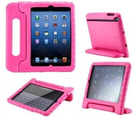 Anti Shock Protection Case for Apple iPad Mini, ¨Carry¨, Rose