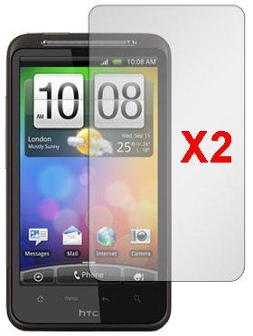 Screen Protector for HTC Desire HD, 2pack
