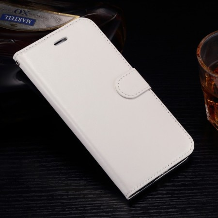 Wallet PU Leather Case for Apple iPhone 7 Plus, White