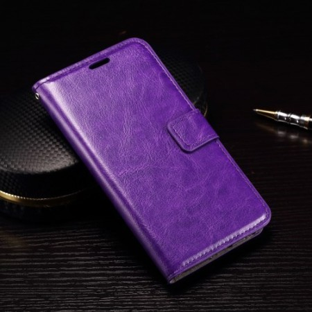 Wallet PU Leather Case for LG Nexus 5X, Purple