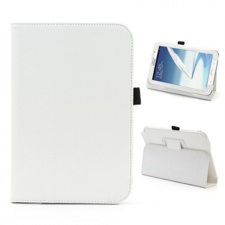 Booklet PU case for Samsung Galaxy Note 8.0, (N5100/N5110),White