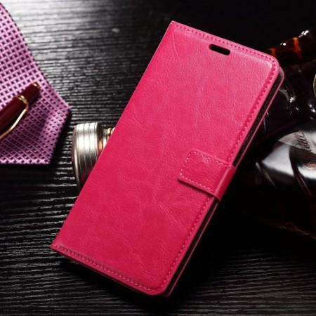 Wallet PU Leather Case for Samsung Galaxy Note 7, Rose