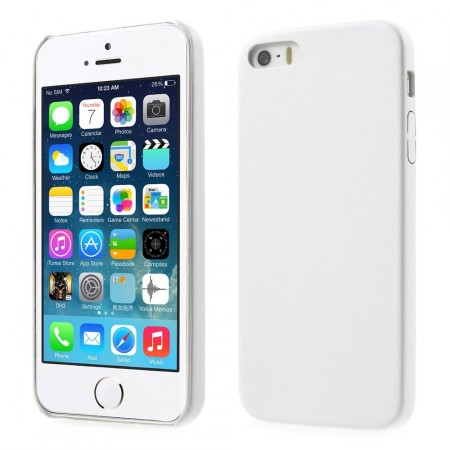 Hard Back Case for Apple iPhone SE, White