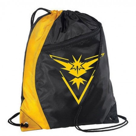 Gymsekk Pokémon GO ¨Team Instinct¨,Black-Yellow