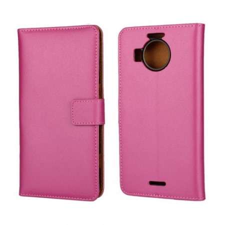 Wallet PU Leather Case for Microsoft Lumia 950 XL, Rose