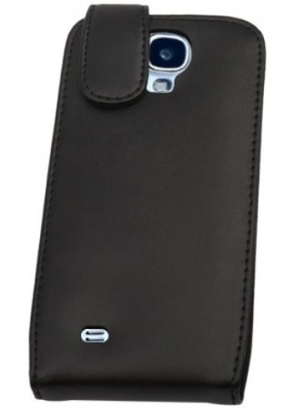 Doormoon Vertical Leather Flip Case Samsung Galaxy S4, Black