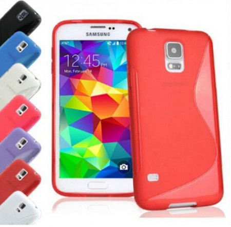Flexi Shield Skin for Samsung Galaxy S5 mini (G800F), *S~line*