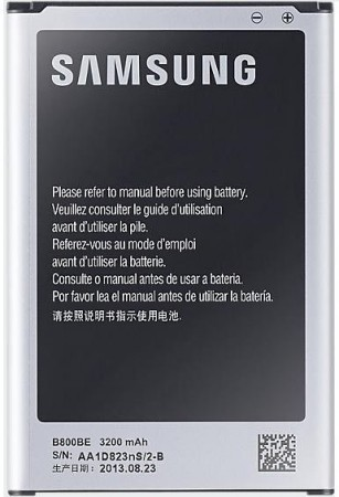 Mobilbatteri for Samsung Galaxy Note 3 - 3,8V/3200mAh Li-Ion