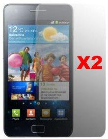 Screen Protector for Samsung Galaxy S II, 2pack