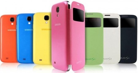Original S-View Flip Cover for Samsung Galaxy S4/S4+