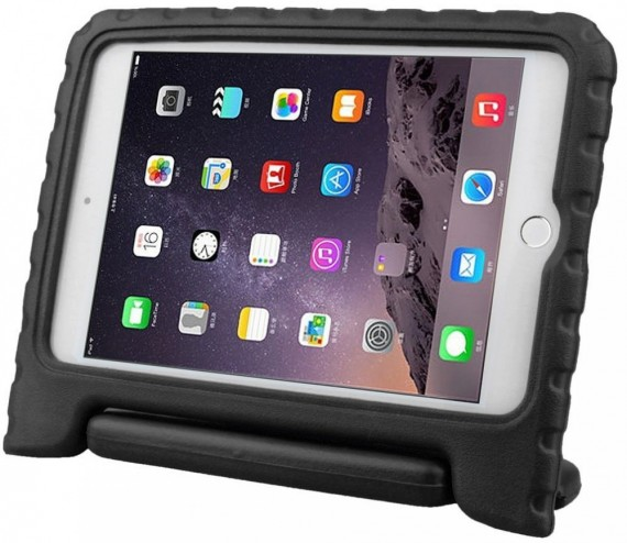 Anti Shock Protection Case for Apple iPad Mini 4, ¨Carry¨, Black